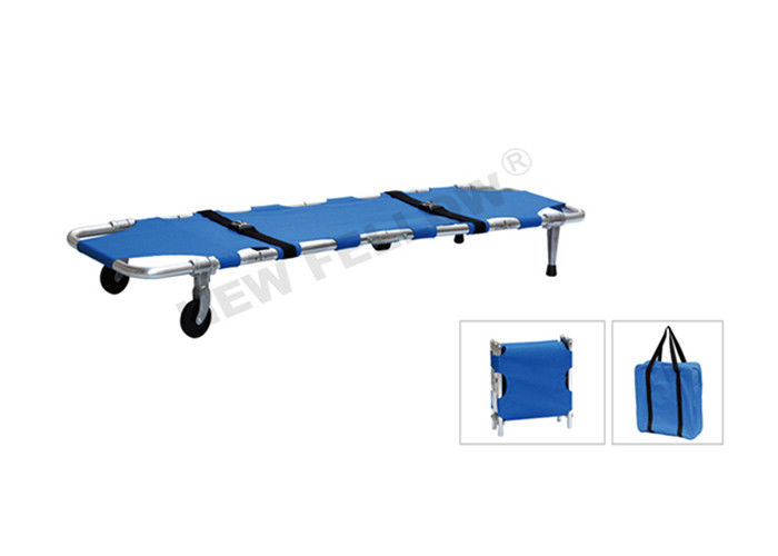 Portable Military Collapsible Pole Confined Space Rescue Stretcher For First Aid Center
