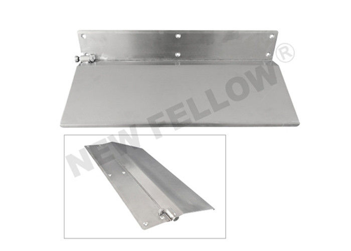 length 24cm Stainless Steel Stretcher Flap For ambulance stretcher CE / FDA